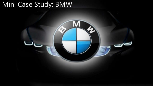 Marketing Case Study- BMW | Bmw | Luxury Vehicles