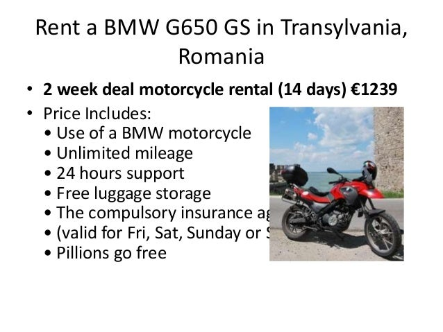 bmw r1200 gs f800gs g650gs-motorcycle for rent in transylvania, roman…