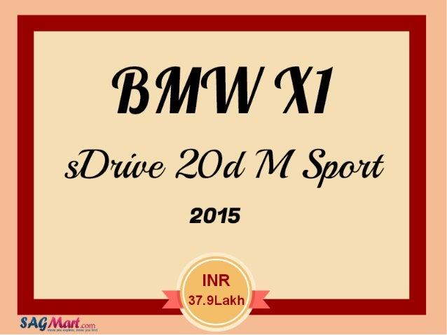 BMW x1 s drive 20d m sport