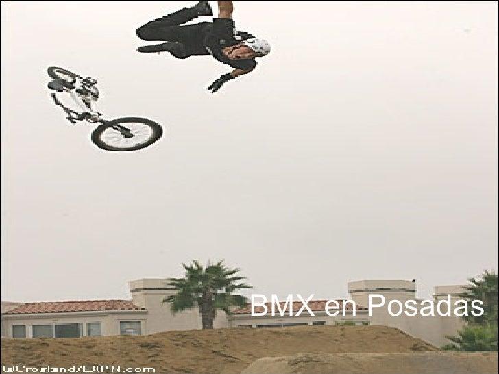 BMX en Posadas