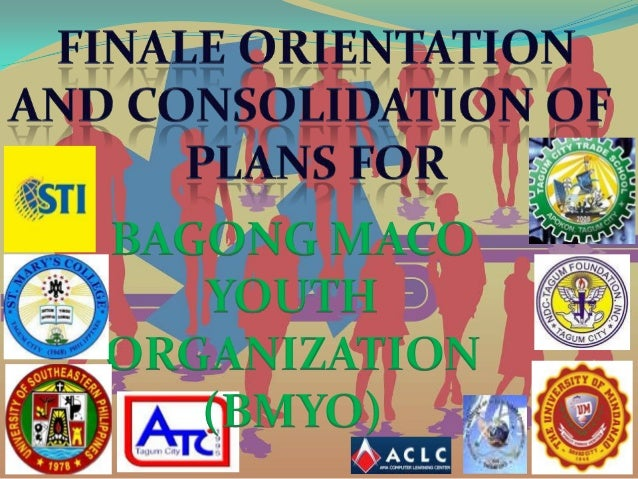 BAGONG MACO   YOUTHORGANIZATION   (BMYO)