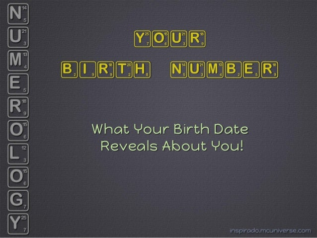 numerology matchmaking by date of birth 25 february