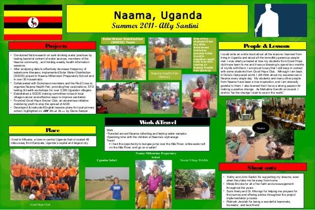 Naama, Uganda                                                                             Summer 2011- Ally Santini       ...