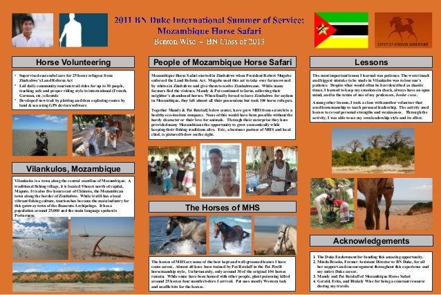 Horse Volunteering                                         People of Mozambique Horse Safari                              ...
