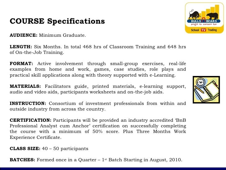 Bnb Paa 6 Months Course Outline