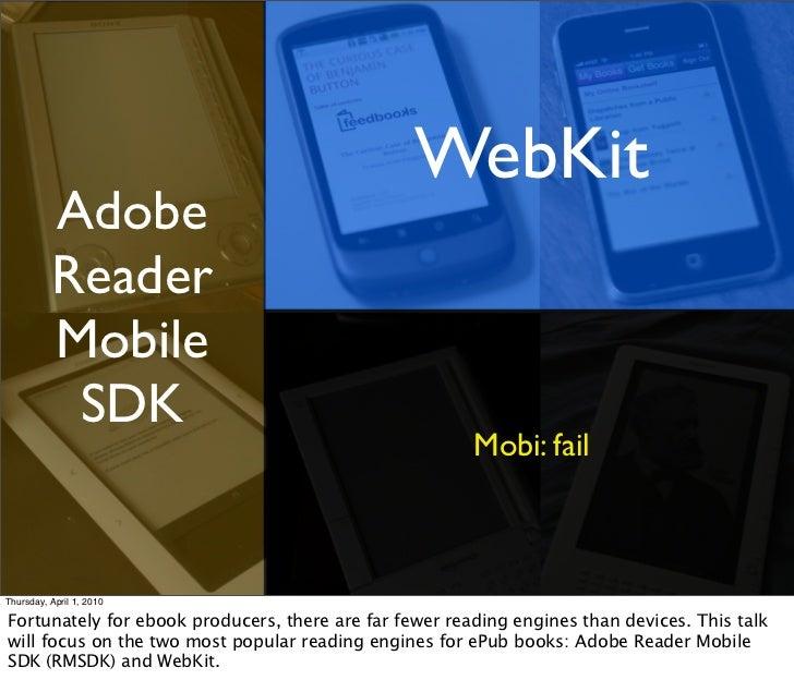 WebKit           Adobe           Reader           Mobile            SDK                                                   ...