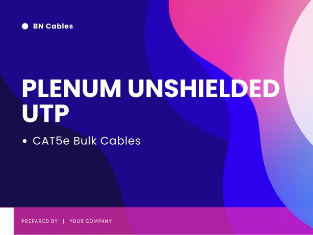 Bn Cables Products | PLENUM UNSHIELDED UTP | Online Services | Visit Now.