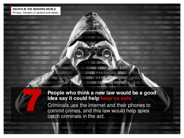 the issue of privacy in the modern world Eff fights in the courts and congress to extend your privacy rights into the digital world, and works with partners around the globe to support the development of privacy-protecting technologies your cell phone helps you keep in touch with friends and family, but it also makes it easier for security agencies to track your location.