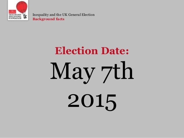 General election date in Sydney