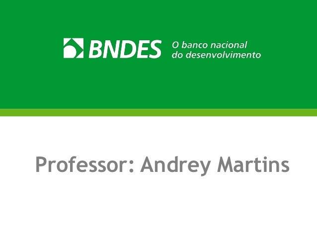 Professor: Andrey Martins