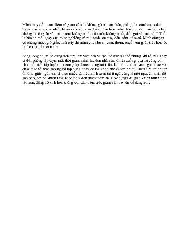 Bằng Chứng Sử Dụng Tpcn Lic Giảm Cân Slide 3