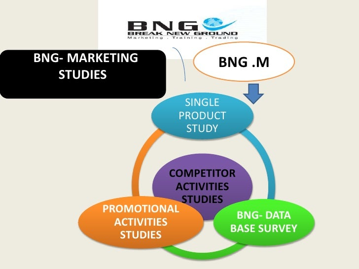 BNG .M<br />  BNG- MARKETING STUDIES <br />
