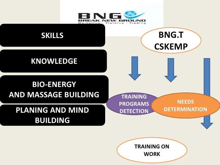 SKILLS<br />BNG.T<br />CSKEMP<br /> KNOWLEDGE <br />BIO-ENERGY <br />AND MASSAGE BUILDING<br />TRAINING PROGRAMS DETECTION...