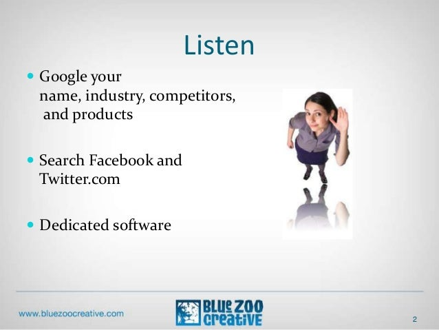 Basic Social Media Strategy for BNI NWA Network Builders Slide 2