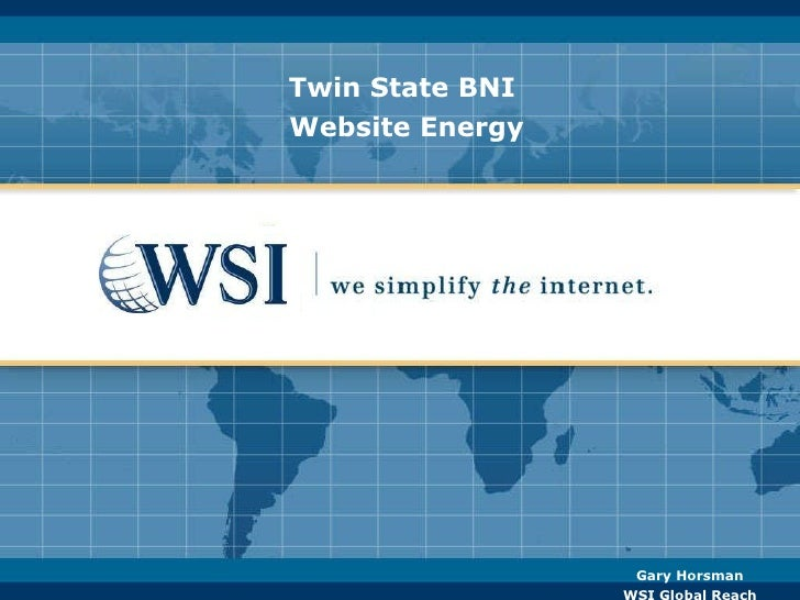Twin State BNI  Website Energy