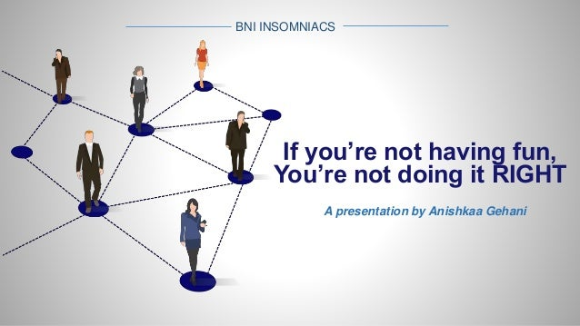 BNI - Networking ppt - ASG