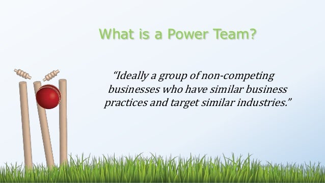 power of teams Leadership keys to harnessing the power of teams in a study by the center for creative leadership of top american and european executives whose careers derailed, the inability to build and lead a team was one of the most common reasons for failure.