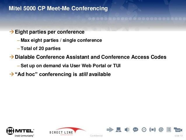 meet me conference setup