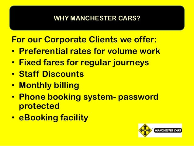"""WE COME HIGHLY RECOMMENDED......... """"Umbro have held a Business Account with Manchester Cars for several years....taxis ar..."""