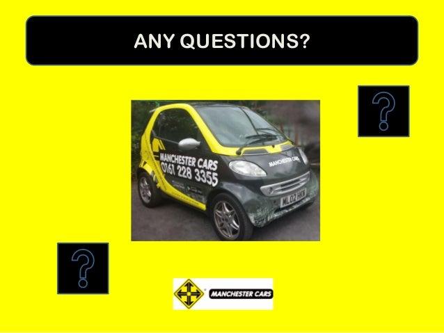 Manchester Cars BNI Presentation