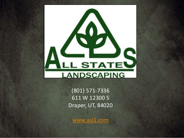 Landscaping Professionals; 3. - All States Landscaping, Landscape Supply Of Utah, All States Lawn & P…