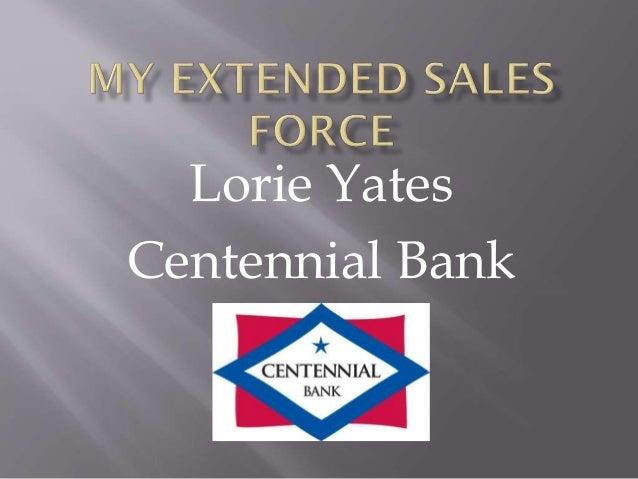bni presentation lorie yates centennial bank, Presentation templates