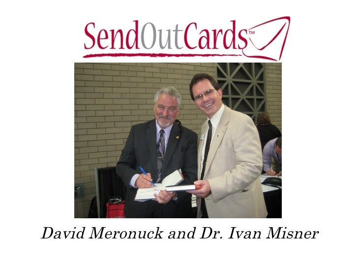 David Meronuck and Dr. Ivan Misner