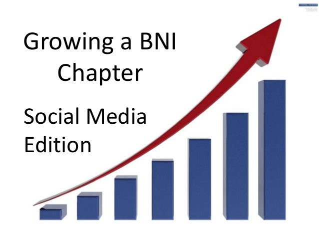 Growing a BNI Chapter Social Media Edition