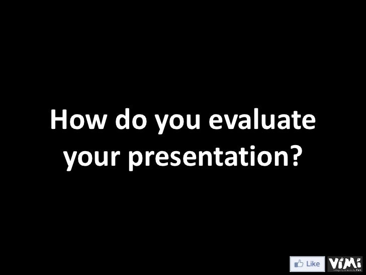 20 minute presentation on any topic