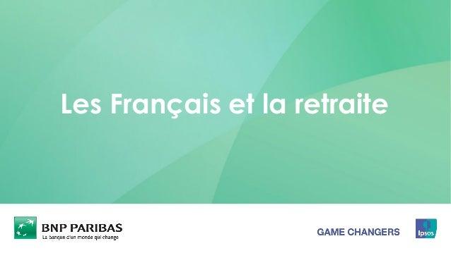 Les Français et la retraite