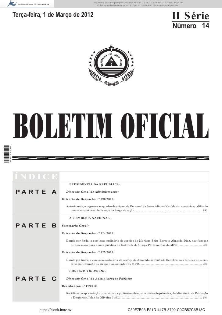 DocumentoDocumentodescarregadoutilizadorutilizadorcarvalho(10.8.0.141)emem02-03-201214:33:57. 13:01:35.                   ...