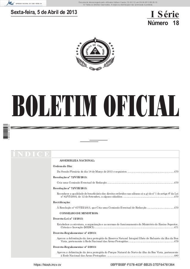 Documento descarregado pelo utilizador Adilson Varela (10.8.0.12) em 09-04-2013 08:29:10. © Todos os direitos reservados. ...