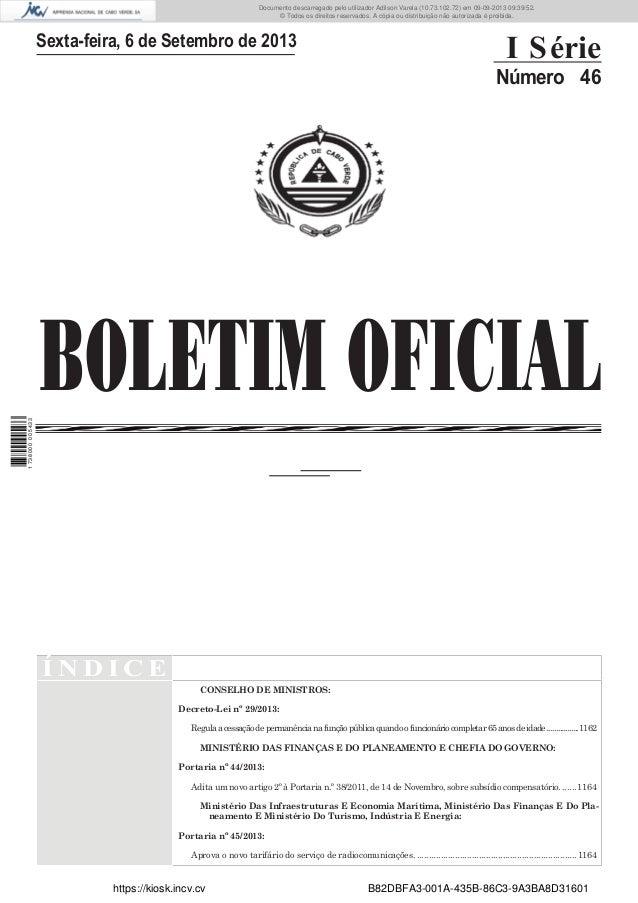 Documento descarregado pelo utilizador Adilson Varela (10.73.102.72) em 09-09-2013 09:39:52. © Todos os direitos reservado...