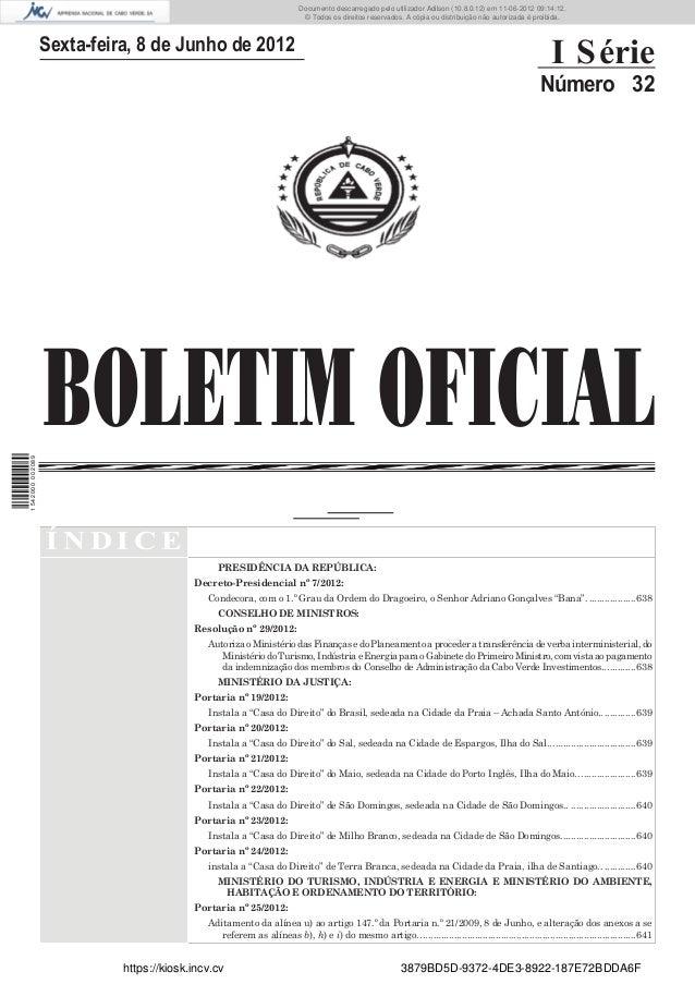 Documento descarregado pelo utilizador Adilson (10.8.0.12) em 11-06-2012 09:14:12.                                        ...
