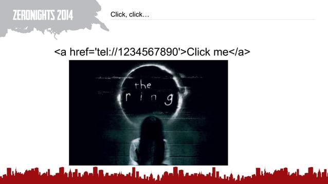 Click, click… <a href='tel://1234567890'>Click me</a>