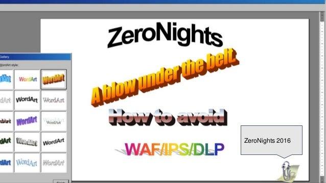 ZeroNights 2016