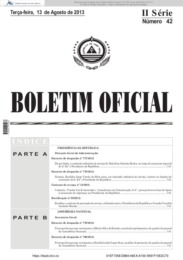 Documento descarregado pelo utilizador Adilson Varela (10.73.102.72) em 04-09-2013 10:13:17. © Todos os direitos reservado...