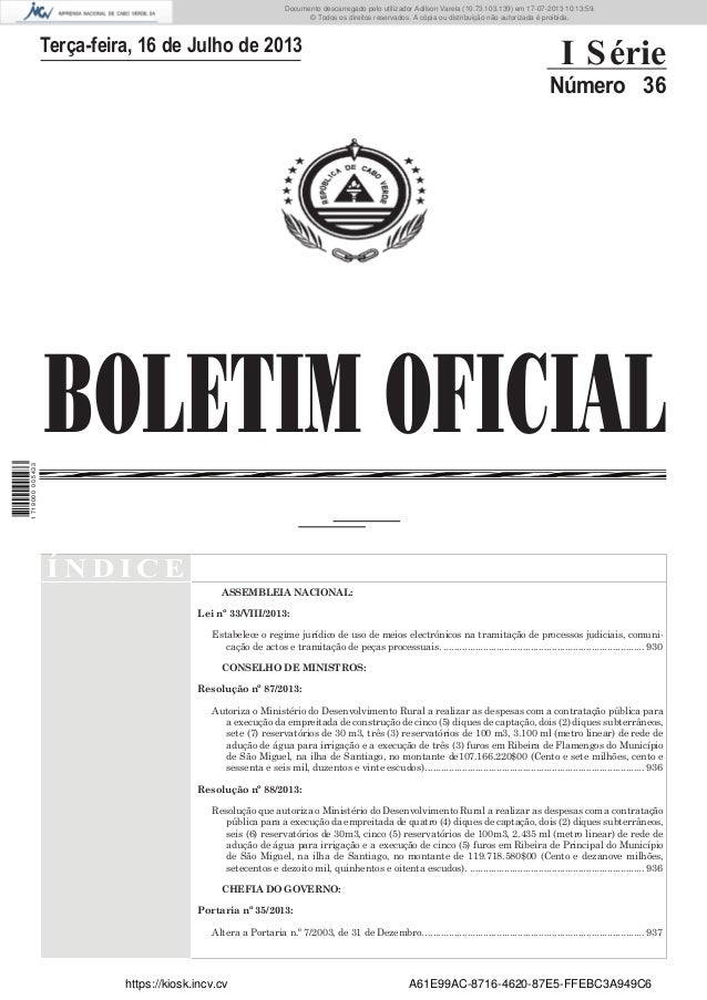 Documento descarregado pelo utilizador Adilson Varela (10.73.103.139) em 17-07-2013 10:13:59. © Todos os direitos reservad...