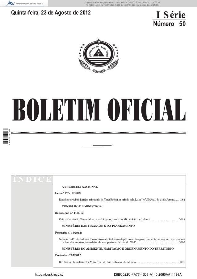 Documento descarregado pelo utilizador Adilson (10.8.0.12) em 23-08-2012 14:33:03.                                        ...