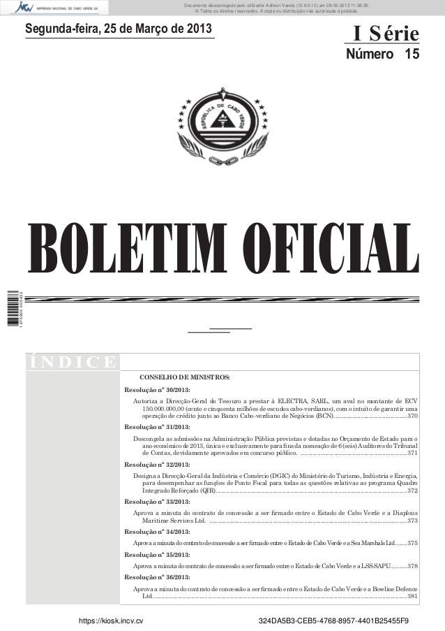 Documento descarregado pelo utilizador Adilson Varela (10.8.0.12) em 28-03-2013 11:38:30. © Todos os direitos reservados. ...