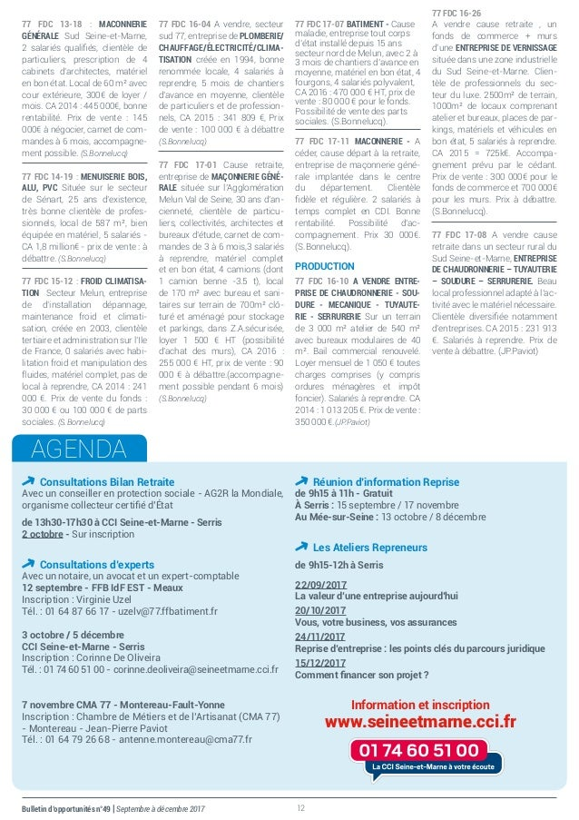 Bulletin DOpportunits SeptDc