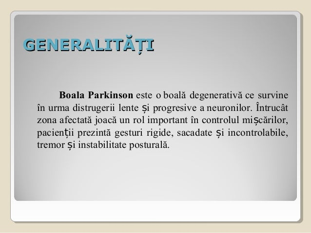 Boala parkinson Slide 3