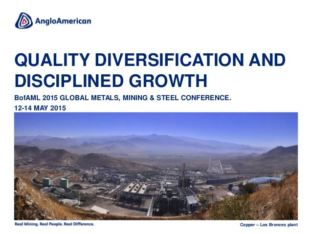Global Metals, Mining and Materials Conference June 4, 2019