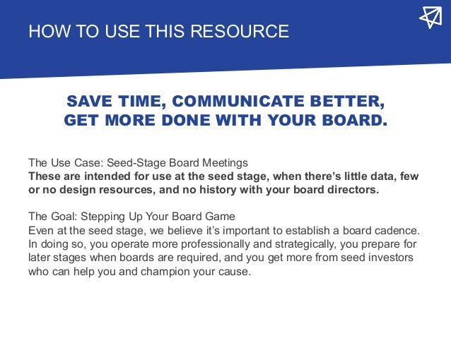 Startup Board Deck Templates 2.0 - NextView Slide 2