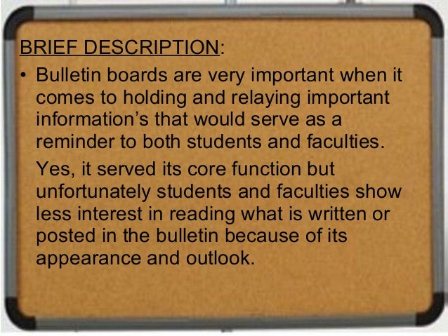 Board Displays Evaluation Form