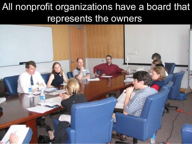 Board governance for Nonprofits Slide 2