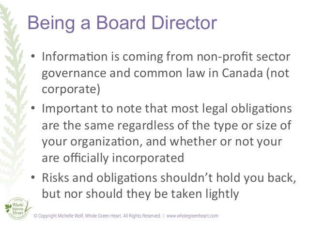 Board governance training slideshow Slide 3
