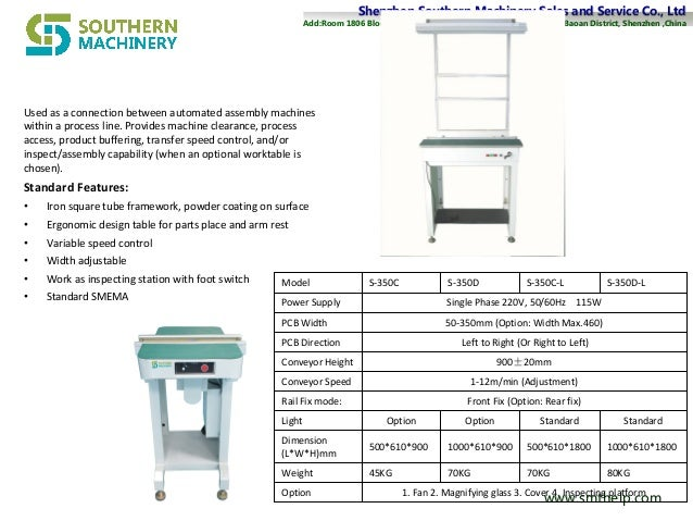 Shenzhen Southern Machinery Sales and Service Co., LtdShenzhen Southern Machinery Sales and Service Co., Ltd Add:Add:Room ...