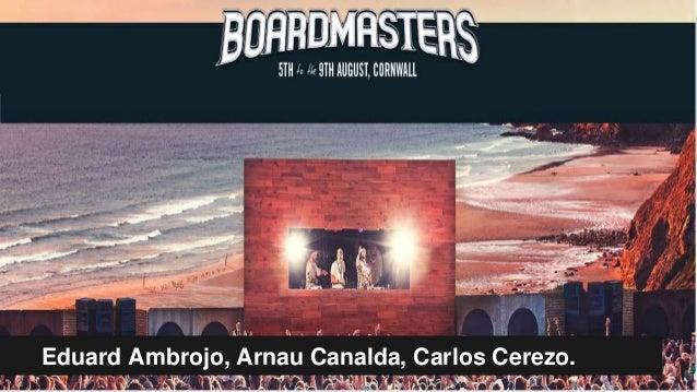 Eduard Ambrojo, Arnau Canalda, Carlos Cerezo.
