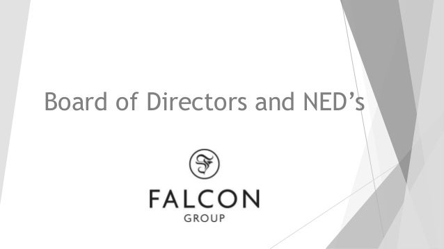 Board of Directors and NED's